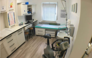 Pflegezimmer von der Praxis Dr. Badiian in Meerbusch
