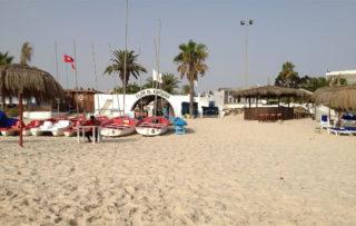 Reisebild am Strand